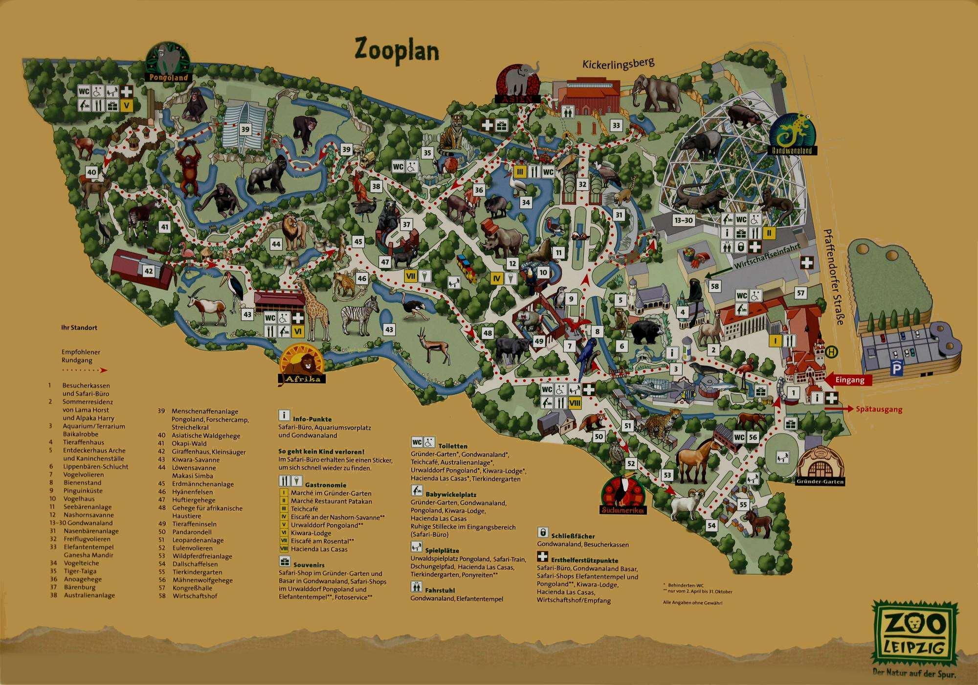 Zoo Leipzig Plan Welcome To Zoo Leipzig 2020 02 12